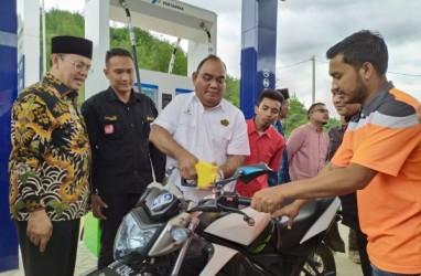 BBM Satu Harga Masuk Gayo Lues Aceh, Premium Jadi Rp6.450 Per Liter