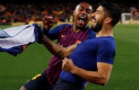 Luis Suarez : Taklukkan Atletico, Barcelona Bikin Dua Langkah