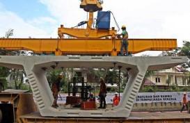 Pekerjaan Teknis Jembatan Kunciran Junction Arah Merak Berlanjut