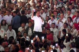 Kampanye di NTT, Jokowi : Ayo Hitung, Berapa Kali…