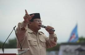 Lagi, Prabowo Sebut Ibu Pertiwi Diperkosa