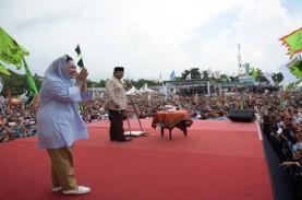 Prabowo Goda Titiek Soeharto saat Kampanye di Yogyakarta