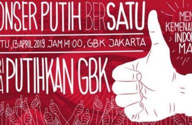 Konser Putih Bersatu Dukung Jokowi Tak Akan Seperti Kampanye Akbar Prabowo