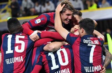 Hasil Liga Italia : Bologna Keluar Zona Merah, Chievo Bersiap Degradasi