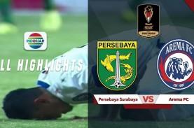 Final Piala Presiden: Persebaya vs Arema FC 2-2, Arema…