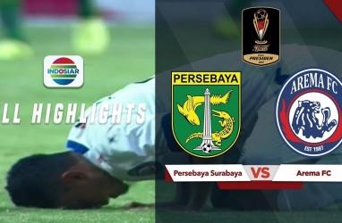 Final Piala Presiden: Persebaya vs Arema FC 2-2, Arema Punya 2 Gol Tandang di Leg 2. Ini Videonya