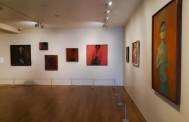 Menyaksikan Pameran Lukisan Jeihan : Hari-Hari di Cicadas