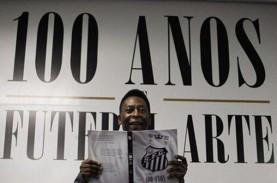 Pele Dinyatakan Sehat, Tiba Kembali di Brasil