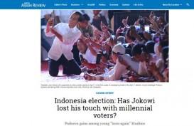 Media Asing Soroti Dukungan Pemilih Milenial untuk Jokowi dan Prabowo