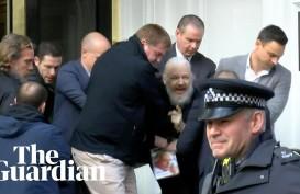 Pendiri Wikileaks Dibui, Australia Beri Bantuan Kekonsuleran bagi Julian Assange