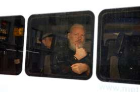 Polisi Inggris Jemput Paksa Pendiri Wikileaks Julian…