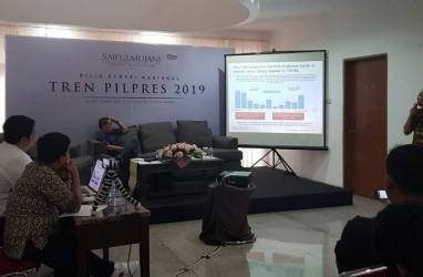 Survei SMRC: Jokowi-Amin Unggul 19,8 Persen dari Prabowo-Sandi