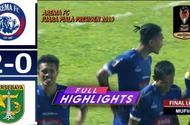 Final Piala Presiden: Arema FC vs Persebaya 2-0, Arema…