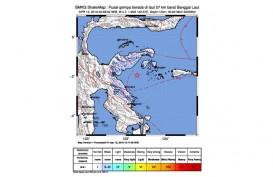 Gempa Banggai Sulteng Terasa Hingga Sulawesi Utara