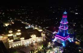 Panasonic dan Pemkab Gorontalo Resmikan Wajah Baru Pakaya Tower Limboto