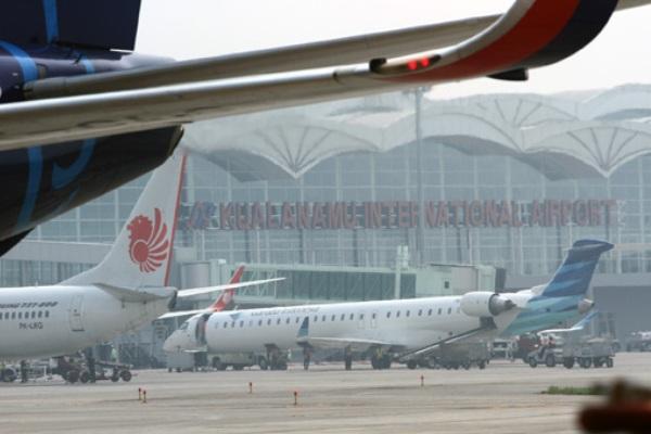 Bandara Kualanamu. - Antara/Irsan Mulyadi