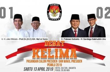 Survei Poltracking : Jokowi-Amin Ungguli Prabowo-Sandi