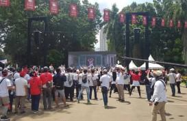 Makna Huruf Arab Pegon di Aksesoris Kampanye Akbar Jokowi-Amin