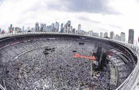 Di Kampanye Jokowi, Cak Lontong : Pakai Wifi Gratis Tanpa Sandi