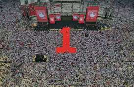 Konser Putih Bersatu Dimulai, Stadion GBK Dipenuhi Pendukung Jokowi-Ma'ruf