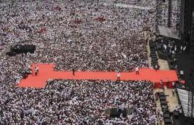 Pramono Unggah Foto Massa Menyemut di GBK Kampanye Akbar Jokowi-Amin