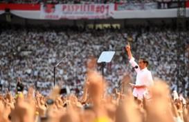 Orasi Jokowi di GBK Ditutup Doa Ma'ruf Amin dan Selawat Yusuf Mansyur