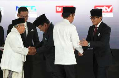 CEK FAKTA : Jokowi dan Sandiaga Debat Soal Defisit Neraca Dagang Awal 2019, Ini Datanya