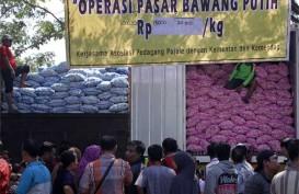 Mentan Amran Sebut Harga Bawang Putih & Merah Sempat Turun Saat Operasi Pasar