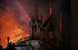Struktur Utama Katedral Notre-Dame Paris Selamat dari Amukan Api