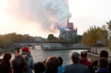 Miliarder Prancis Janji Sumbang Rp1,5 Triliun untuk Perbaikan Notre Dame