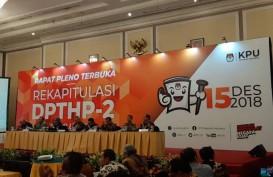 Pemilu 2019 : 18 Kota di Indonesia dengan DPT Kurang dari 100.000 Jiwa