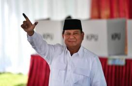Usai Mencoblos, Prabowo Minta Penyelenggara Pemilu Adil