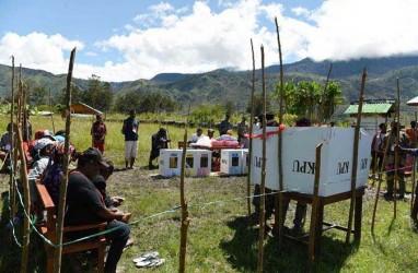 PPS di Kabupaten Manokwari, Papua Barat, Mulai Hitung Suara