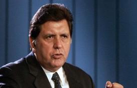 Saat Ditangkap Polisi, Mantan Presiden Peru Alan Garcia Tembak Diri Sendiri