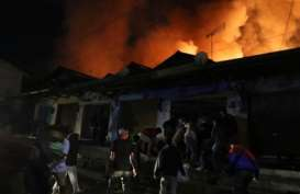 Pasar Lawang Kabupaten Malang Terbakar, 500 Lapak dan Kios Hangus