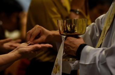 Potret Misa Kamis Putih dari Berbagai Daerah