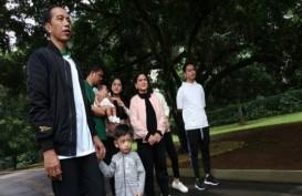 Hari Kedua Setelah Pemilu, Jokowi Habiskan Waktu Bersama Keluarga