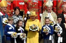 Ratu Elizabeth dan Putri Eugenie Hadiri Kebaktian Maundy di Windsor