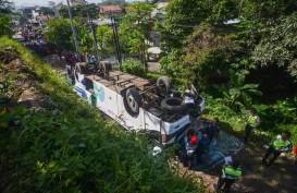 Kecelakaan Bus Pelajar di Sukabumi Renggut Dua Nyawa, 20 Luka Berat