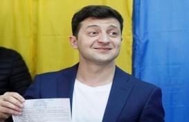 Pelawak Tanpa Pengalaman Politik Menangkan Pilpres Ukraina