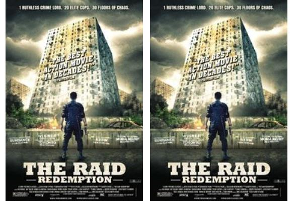 Poster film The Raid:Redemption - imdb.com