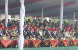 Prabowo, Hendropriyono, Gatot Nurmantyo Hadiri HUT Kopassus