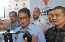 Data Internal Prabowo-Sandi Diklaim Unggul Telak dan Berbeda dengan KPU