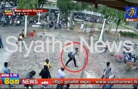 BOM PASKAH : Detik-detik Pelaku Ledakkan Bom Bunuh Diri di Gereja