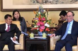 Temui Wapres Cina, JK Ungkap Alasan Gantikan Jokowi di KTT OBOR