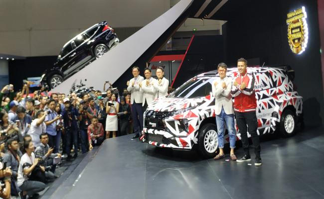Mitsubishi Xpander AP4 Concept di ajang IIMS 2019, Kamis (25/4/2019) - Thomas Mola