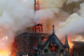 Kepolisian Perancis Masuki Katedral, Cari Bukti Penyebab…
