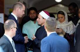 Berkunjung ke Selandia Baru, Pangeran William Bertemu Korban Penembakan Massal