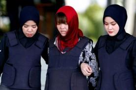 Kasus Pembunuhan Kim Jong-nam, Doan Thi Huong Bebas…