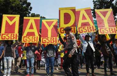 Jelang May Day, Berbagai Serikat Buruh Berkunjung ke Polda Metro Jaya